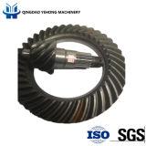 BS5034 고품질 트럭은 나선형 비스듬한 기어 주문을 받아서 만들어진 뒤 축 나선형 기어를 분해한다