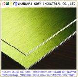 Außenwand-dekoratives 4mm zusammengesetztes Aluminiumpanel