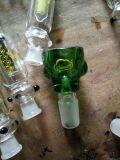 Tazón de fuente de cristal de cristal de los accesorios del tubo de agua que fuma