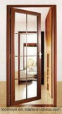 熱い販売の倍によって強くされるガラスアルミニウム開き窓のドア
