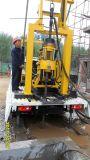 トラクターによって取付けられる井戸の掘削装置