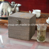 Alto acabamento alto acabamento personalizado Shell MDF caixa de madeira para cosméticos
