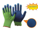 Трикотажные Cut-Resistant гильзы с покрытием PU перчатки на упоре для рук
