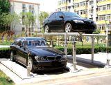 Elevatore di parcheggio dell'automobile del garage della piattaforma del doppio del pozzo dei quattro alberini sotterraneo
