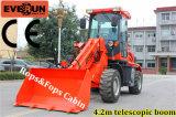 Boom telescopico Shovel Loader con Euroiii Engine Rops&Fops