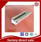 Profil 6063 T5 en aluminium anodisé pour le guichet et la porte
