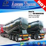 3 ejes 50cbm Bulker tanque de cemento semi remolque