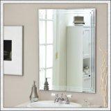 磨かれた端の切口のサイズの装飾的なミラーの洗浄部屋ミラー