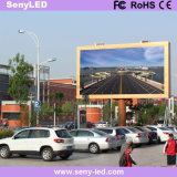 Pared video del LED P10mm para la publicidad al aire libre