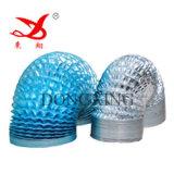 Flexibles Aluminum Duct Film für Air Conditioning Pipe (AL 7/PET 12)