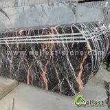 Шаг M502 Rose Portor мраморный с Bullnose краем