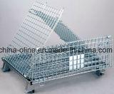 Rollo de alambre de acero Metal Cesta/Canastilla Storgae