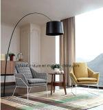 Tela de madeira do projeto do suporte que janta cadeiras