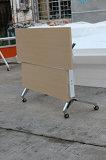 La mélamine Conseil Table en bois de pliage de la formation Bureau de poste de travail de bureau pliable