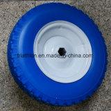 4.10 3.50-6 neumáticos de la espuma de la PU con la pisada del diamante