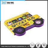 Tapa dura personalizada Pulsador de la música de los niños los libros de los efectos de sonido