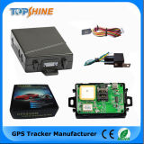 GPS Motorcycle Tracker con SOS Panic Button Track Via Web Software