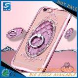Cas en cristal de téléphone cellulaire de Rhinestone pour la perfection de Samsung J7