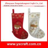 크리스마스 훈장 (ZY14Y106-1-2) 크리스마스 문의 손잡이 걸이 중국 제품