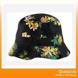 100%年の綿カスタム完全な印刷されたパターンバケツの帽子