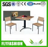 Tienda de café mesa y silla para la venta (DT-14)