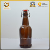 16oz leeren Glasschwingen-Oberseite-Bierflaschen, Kippen-Spitzenbierflasche (015)