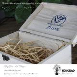 Hongdao kundenspezifisches umweltfreundliches hölzernes Geschenk-Verpackungskiste Großhandels_E