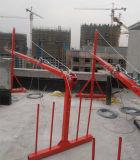 Zlp 높 일어나는 건물에서 일을%s 시리즈에 의하여 중단되는 비계 플래트홈