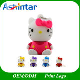 Memória Flash USB Thumbdrive Cartoon Hello Kitty Unidade Flash USB