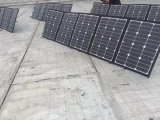 Het Vouwbare Zonnepaneel van Sunpower 200W voor het Kamperen