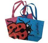 BSCI a certifié le sac estampé promotionnel de jute d'emballage de mode