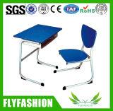 Preço de baixa qualidade forte prateleira dos alunos da Escola de turismo com cadeira Sf-61S