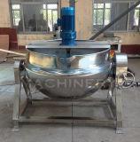 ミキサー(ACE-JCG-063127)が付いている200リットルの産業電気調理の鍋