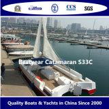 De Catamaran van Bestyear S33c
