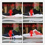 Originals Eqt Support 91/17 Boost Og Primeknit Negro Blanco Rosa Rojo Blanco Montañismo Mujer Hombres Zapatillas con Box