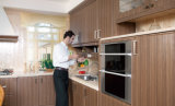 Pavimento all'ingrosso che si leva in piedi la mobilia della cucina del PVC (zc-041)