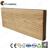 Placa de madeira composta resistente a água de pátio ao ar livre