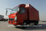 [سنوتروك] [هووو] 5 طن مصغّرة صندوق أسلوب شحن شاحنة