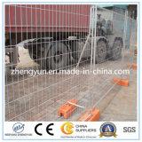移動式一時塀のパネルを囲う構築の熱い販売のため