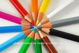 6PCSは4c印刷でPaperbox詰まる昇進のためのカラー鉛筆をショートさせる