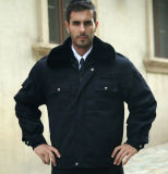 Форма куртки черноты обеспеченностью оптовых продаж самой последней ваты теплая