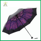 [سون] مطر ثلاثة يطوي أمان مظلة مع حافّة انعكاسيّة