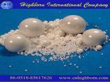 Esfera de moedura cerâmica do Zirconia branco da resistência de desgaste da precisão