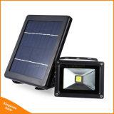 Nigntの照明のための太陽動力を与えられたLEDセンサーランプの太陽洪水ライト