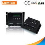 LCD表示が付いている40A太陽電池の料金のコントローラ