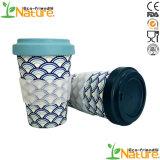 El té chino tazas reutilizables abastecido a los niños de la Copa de fibra de bambú
