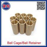 Les retenues de la cage à billes Presicion en aluminium, des cages à billes de roulement Guide de la chemise, de cuivre Fzh Retenue de bille