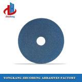 discos del papel de la fibra del alúmina del Zirconia de 125m m abrasivos para el polaco del metal
