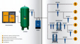 20HP 15kw空気タンクが付いている産業ねじ空気圧縮機