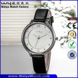 Form-beiläufige Uhr-Quarz-Dame-Armbanduhren (Wy-052C)